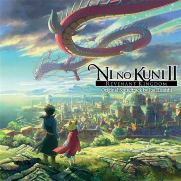 NI NO KUNI II REVENANT KINGDOM ORIGINAL SOUNDTRACK BY JOE HISAISHI NEW