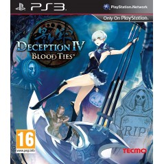 DECEPTION IV:BLOOD TIES PS3 FR OCCASION