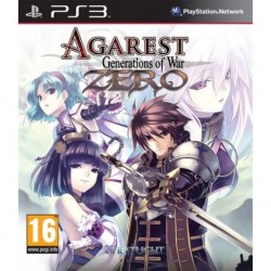 AGAREST GENERATION OF WAR ZERO PS3 EURO OCCASION