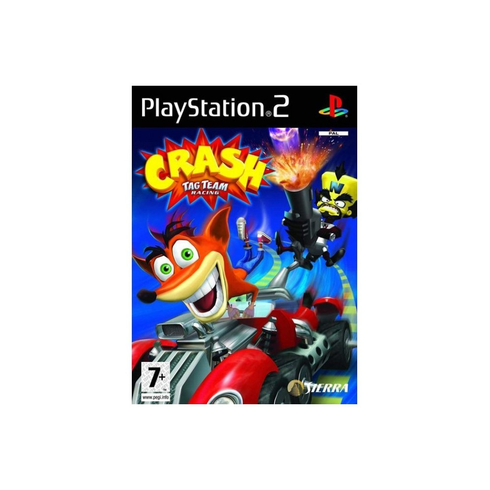 CRASH TAG TEAM RACING PS2 PAL-FR OCCASION