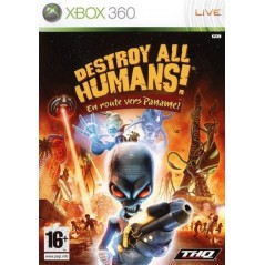 DESTROY ALL HUMANS! EN ROUTE VERS PANAME! XBOX 360 PAL-FR OCCASION