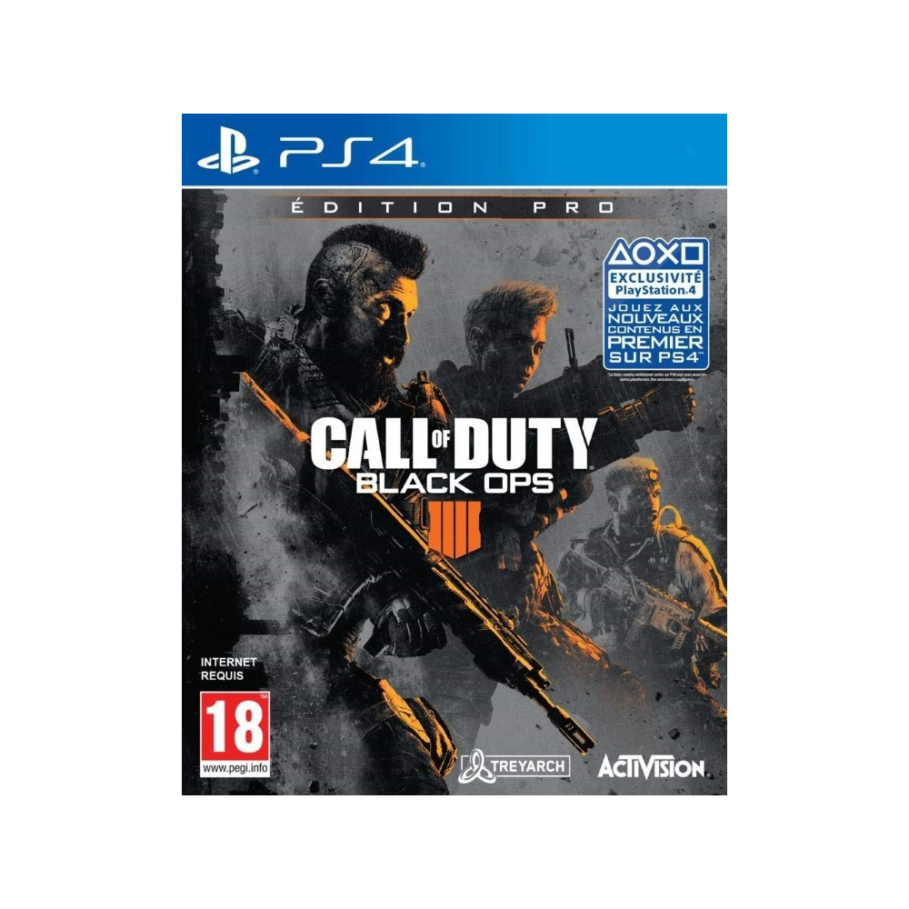 CALL OF DUTY BLACK OPS IIII EDITION PRO PS4 FR NEW