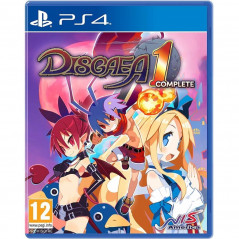 DISGAEA 1 COMPLETE PS4 PAL FR NEW