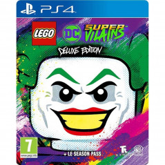 LEGO DC SUPER VILAINS DELUXE EDITION PS4 FR NEW