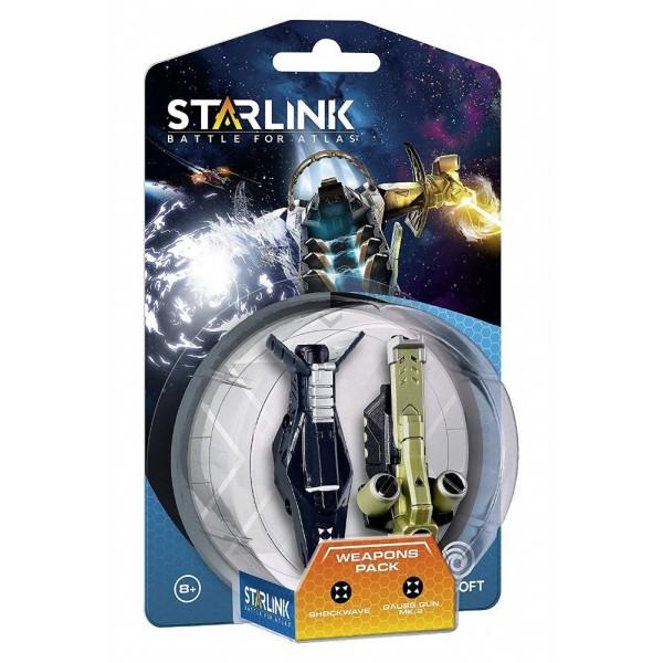 FIGURINE STARLINK WEAPON PACK SHOCKWAVE + GAUSSE GUN MK 2 EURO NEW