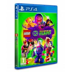 LEGO DC SUPER VILAINS PS4 EURO FR NEW