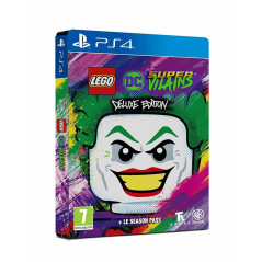 LEGO DC SUPER VILAINS DELUXE EDITION PS4 EURO FR NEW