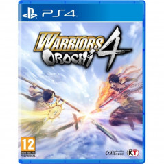 WARRIORS OROCHI 4 PS4 PAL FR NEW