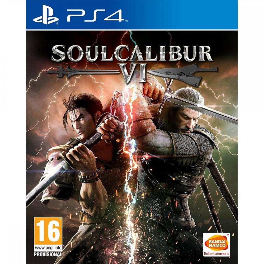 SOUL CALIBUR 6 PS4 UK NEW