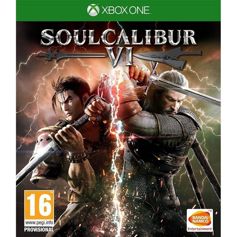 SOUL CALIBUR 6 XBOX ONE UK NEW