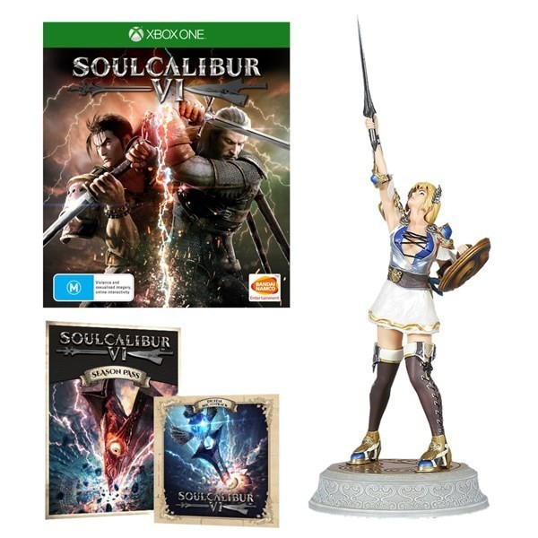 SOULCALIBUR VI COLLECTOR XBOX ONE FR NEW