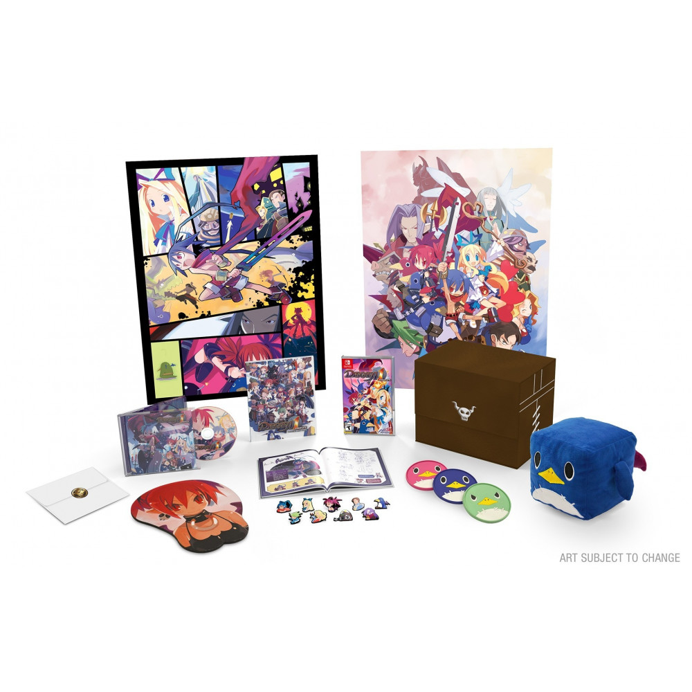 DISGAEA 1 COMPLETE ROSEN QUEEN S FINEST EDITION SWITCH FR NEW