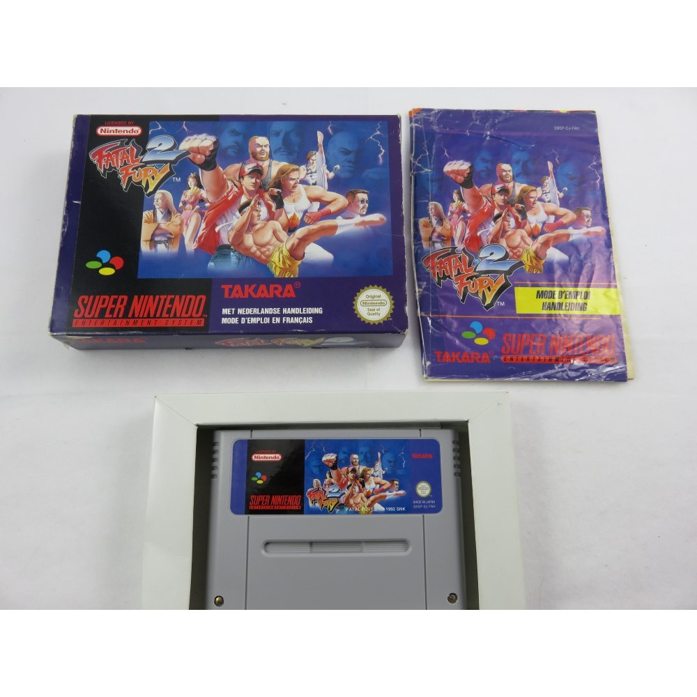 FATAL FURY 2 SNES PAL-FAH OCCASION
