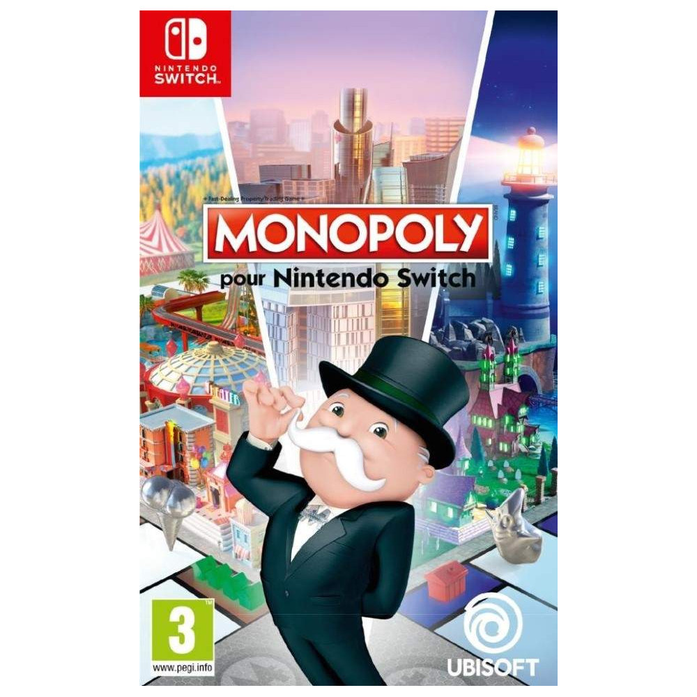 MONOPOLY SWITCH EURO FR OCCASION