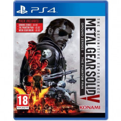METAL GEAR SOLID V THE DEFINITIVE EXPERIENCE PS4 UK OCCASION