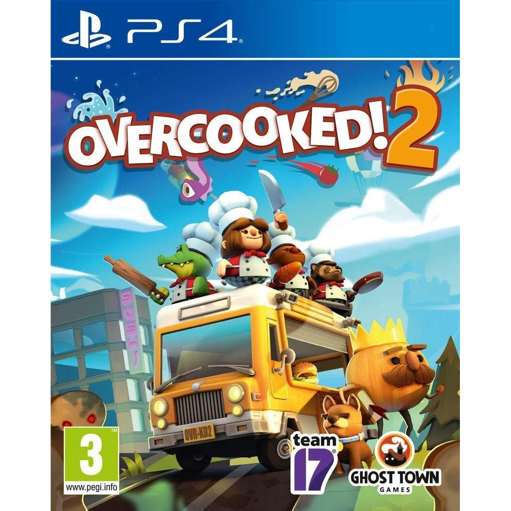 OVERCOOKED 2 PS4 EURO FR NEW