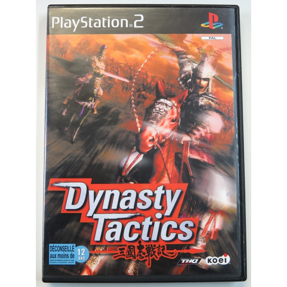 DYNASTY TACTICS PS2 PAL-FR OCCASION