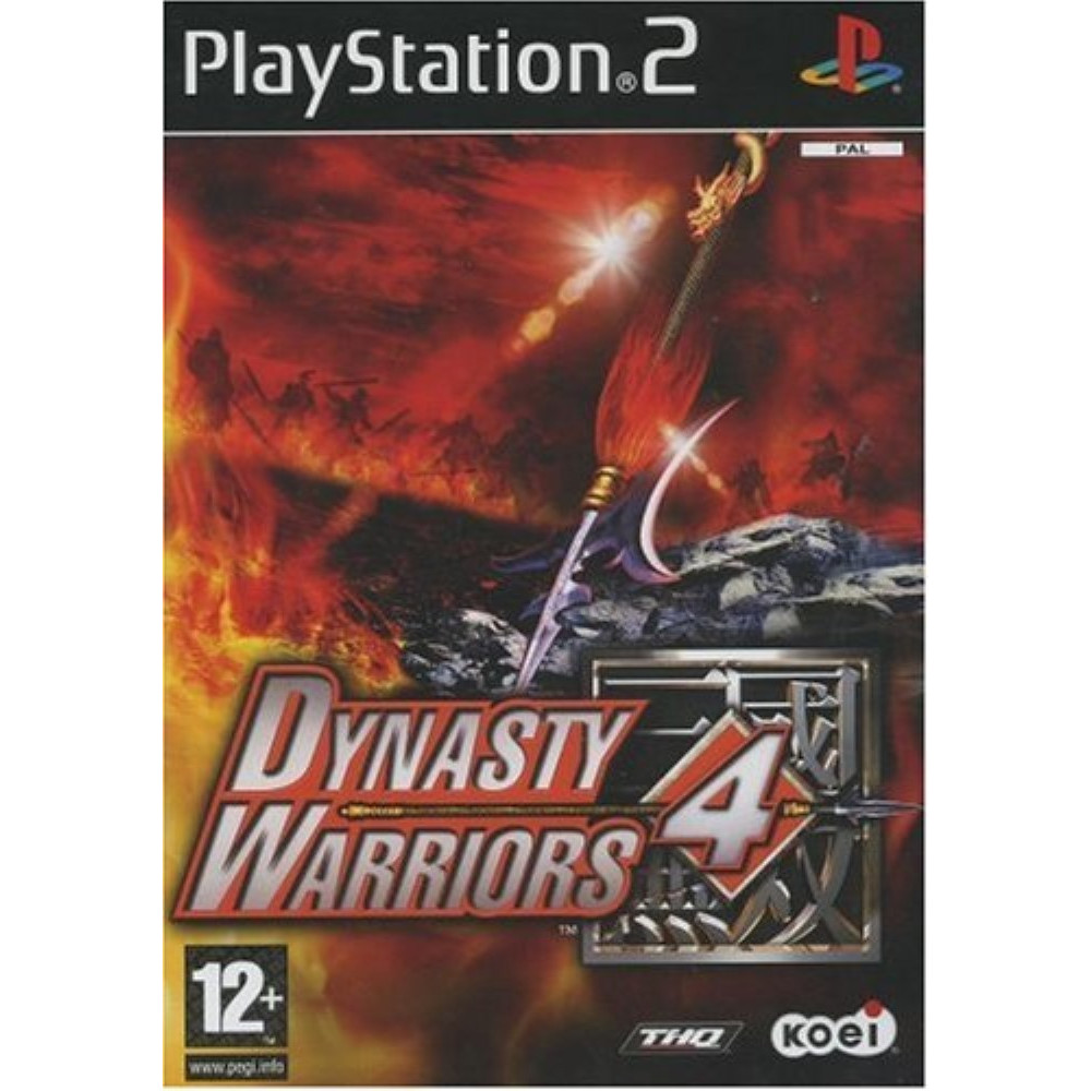DYNASTY WARRIORS 4 PS2 PAL-FR OCCASION