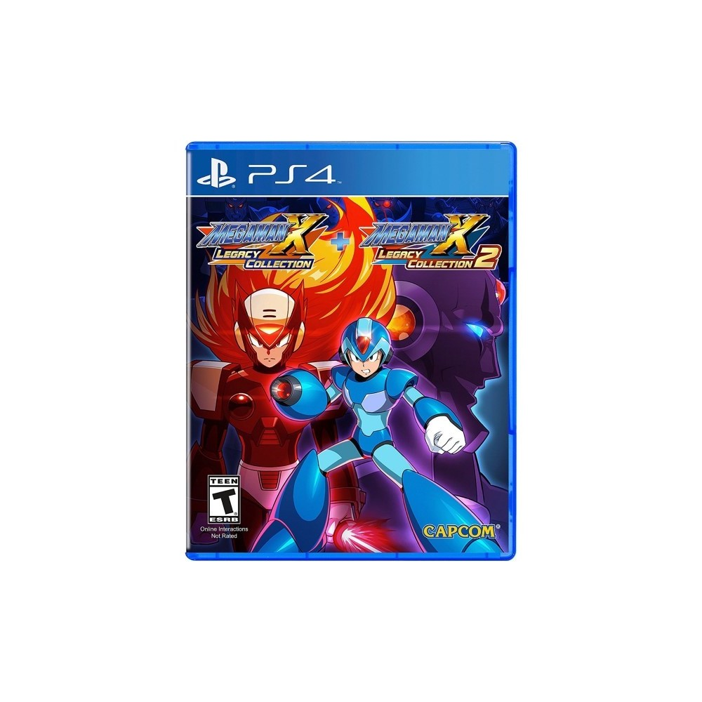 MEGA MAN X LEGACY COLLECTION 1+2 PS4 US OCCASION