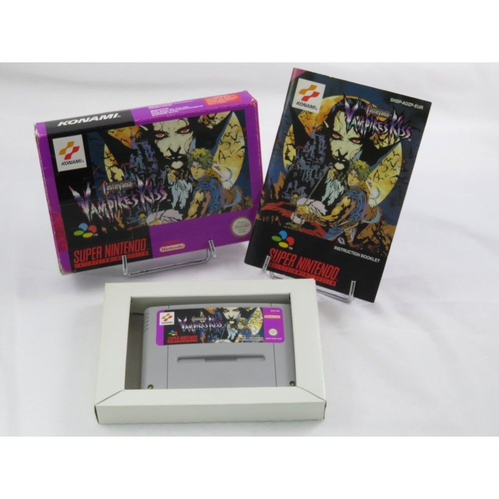 CASTLEVANIA VAMPIRE'S KISS SNES PAL-EUR OCCASION