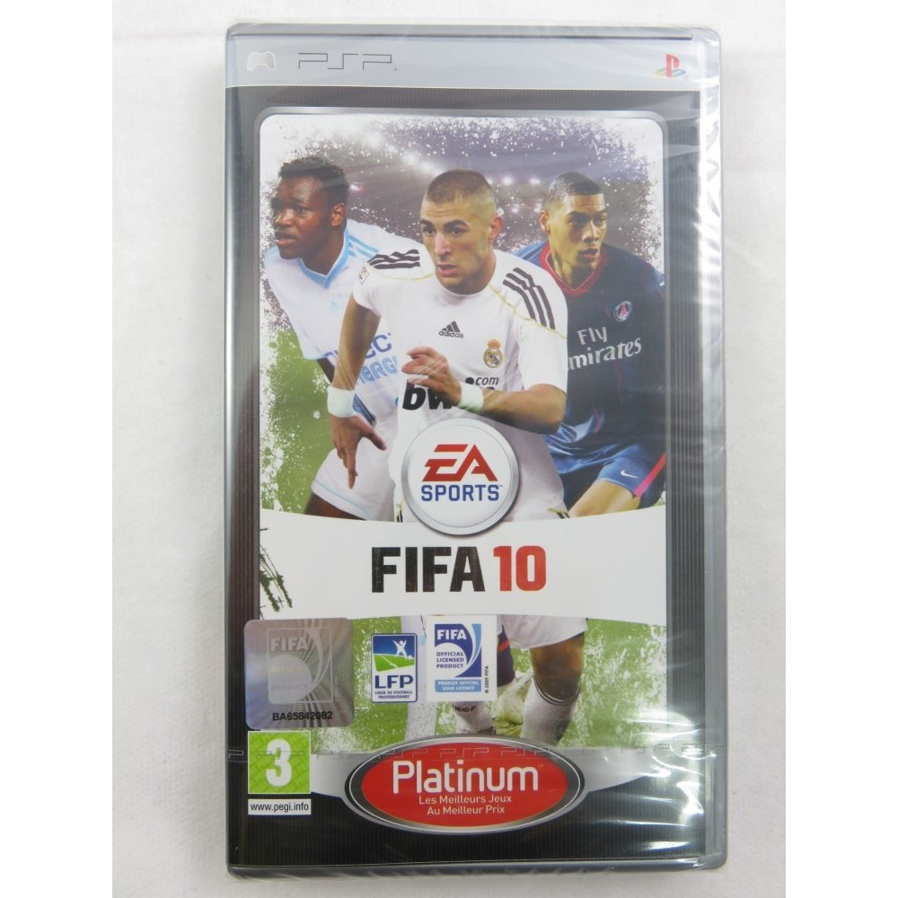 FIFA 10 PLATINUM PSP FR NEW