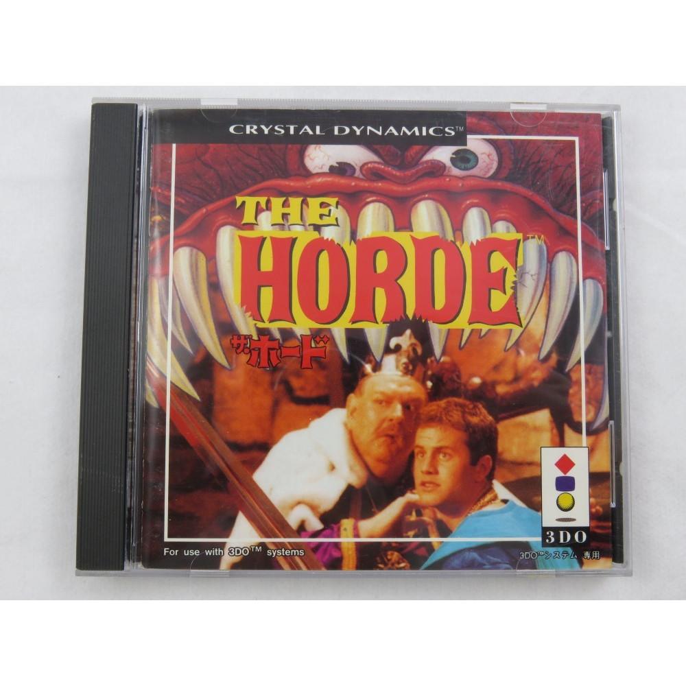 THE HORDE 3DO NTSC-JPN OCCASION