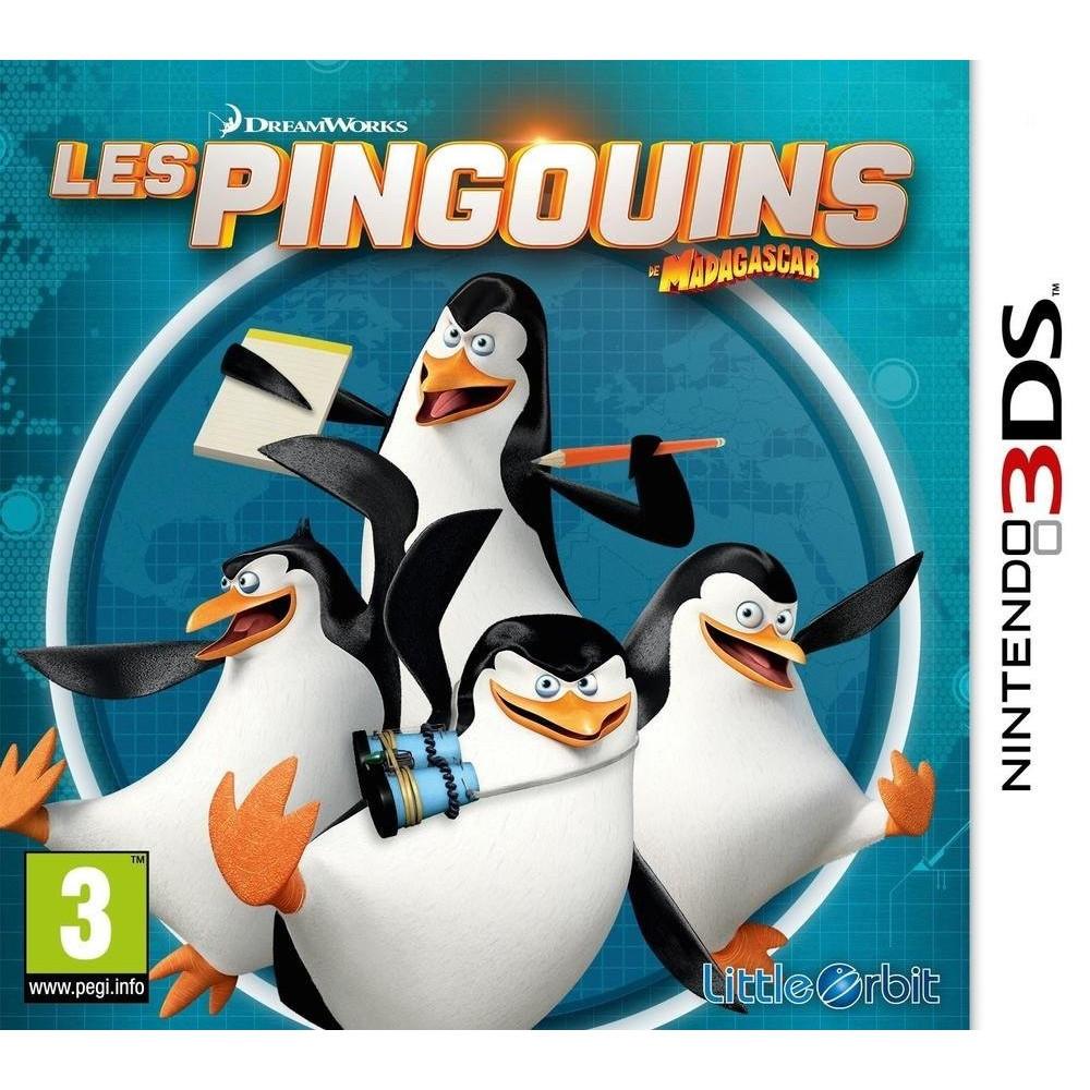 LES PINGOUINS DE MADAGASCAR 3DS FR OCCASION