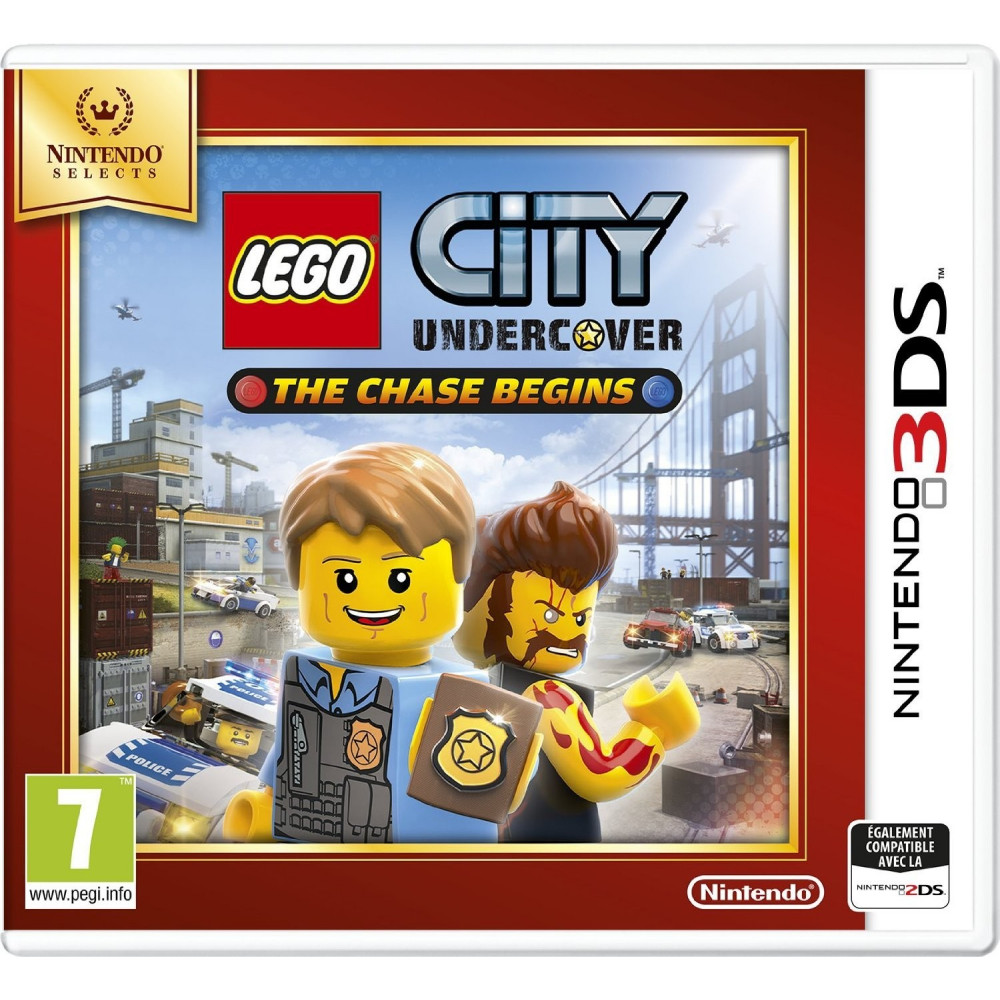 LEGO CITY UNDERCOVER THE CHASE BEGINS NINTENDO SELECTS 3DS FR OCCASION