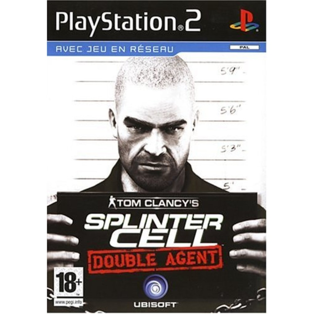 TOM CLANCY S SPLINTER CELL DOUBLE AGENT PS2 PAL-FR OCCASION(ETAT B)