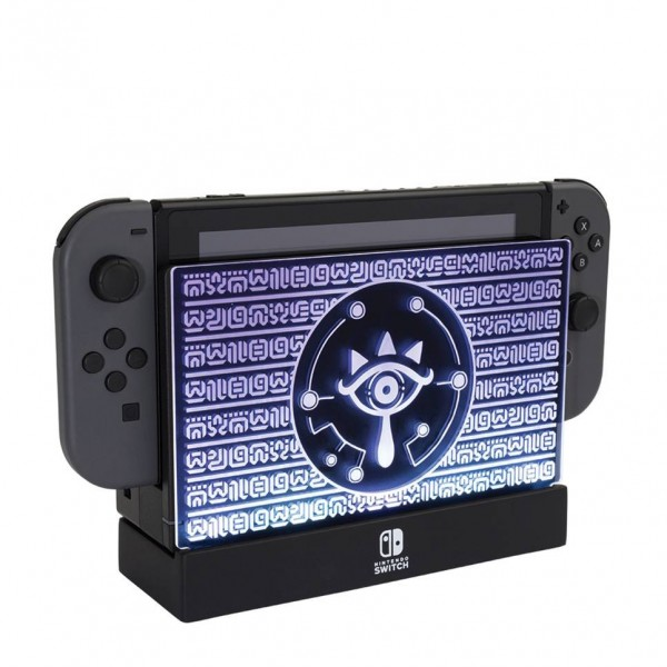 LIGHT UP OFFICIAL DOCK SHIELD PDP SWITCH EURO NEW