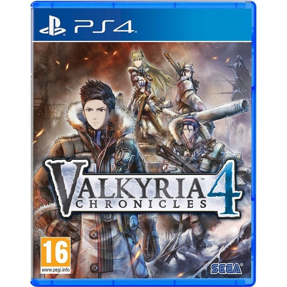 VALKYRIA CHRONICLES 4 PS4 UK OCCASION