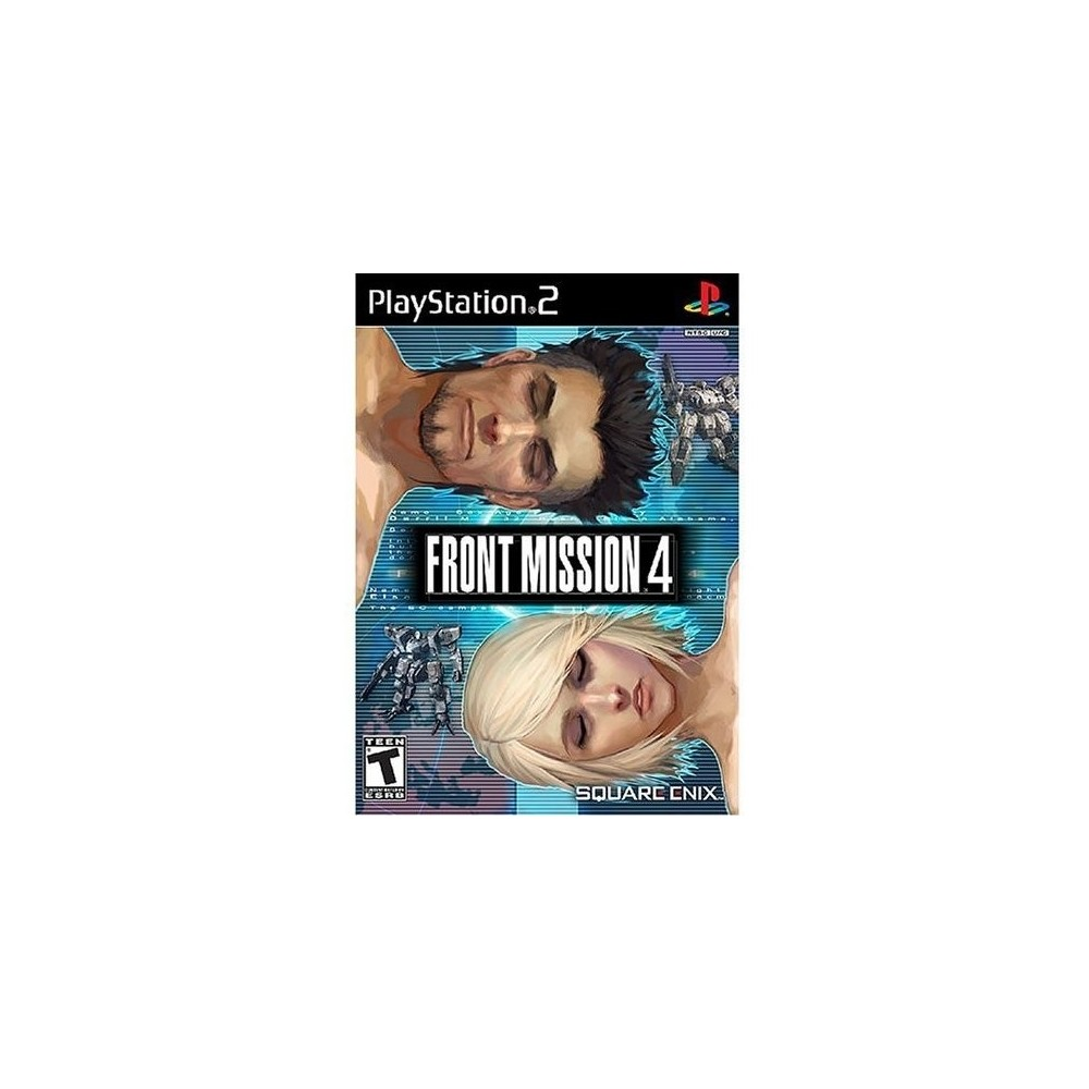 FRONT MISSION 4 PS2 NTSC-USA NEW 2