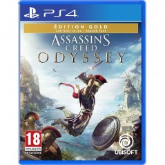 ASSASSIN S CREED ODYSSEY EDITION GOLD PS4 FR OCCASION