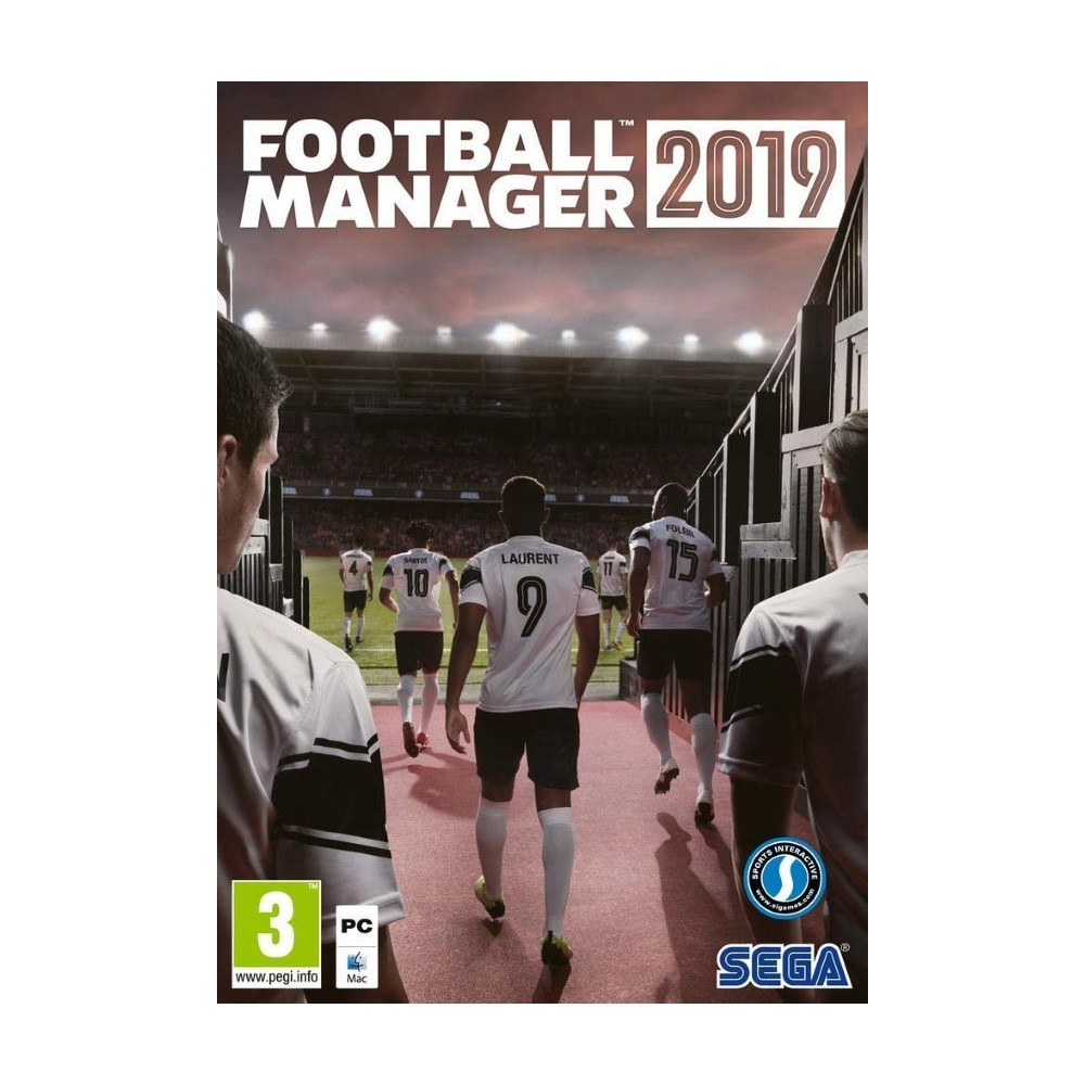 FOOTBALL MANAGER 2019 PC FR NEW