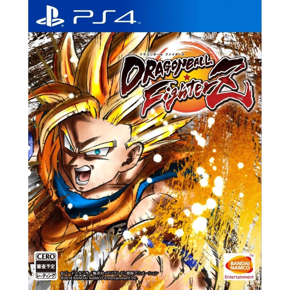 DRAGON BALL FIGHTERZ PS4 JAP OCCASION