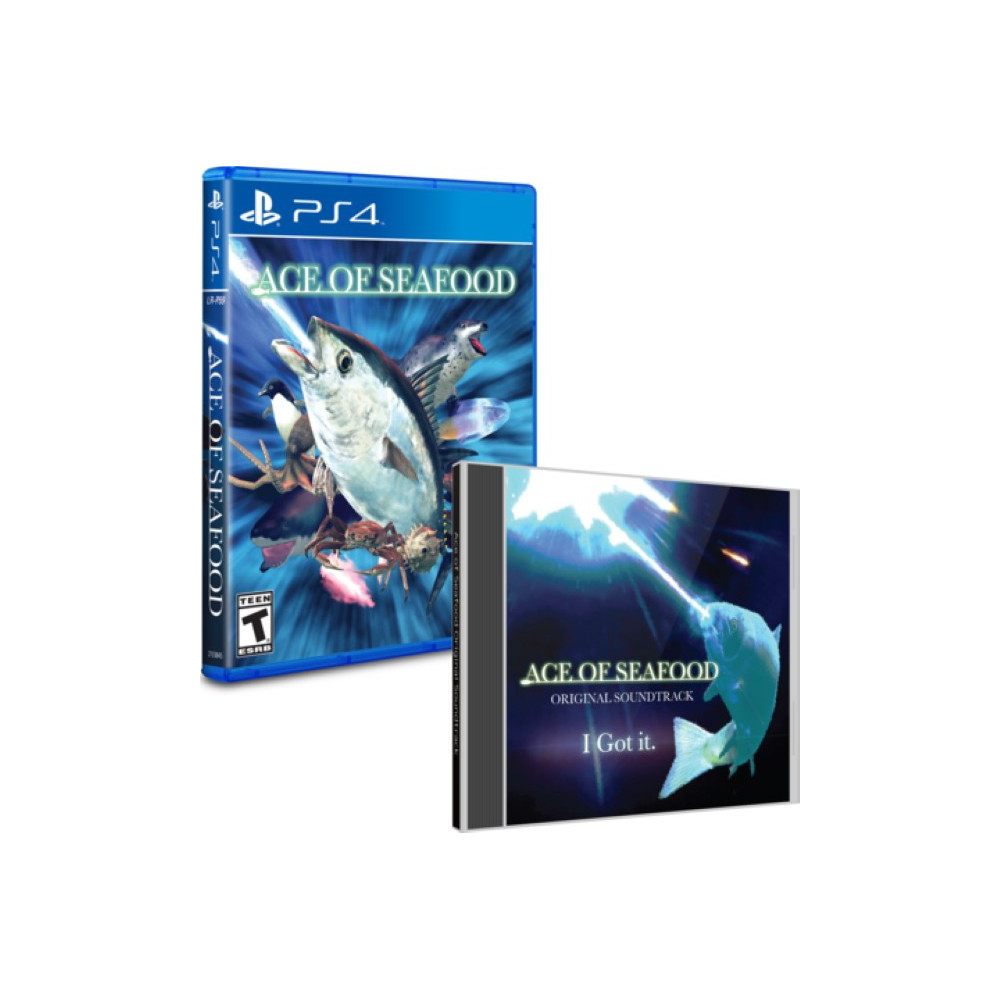 ACE OF SEAFOOD + OST PS4 US NEW
