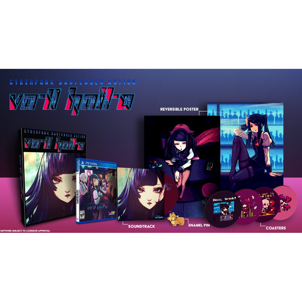 VA-11 HALL-A COLLECTOR PSVITA US NEW