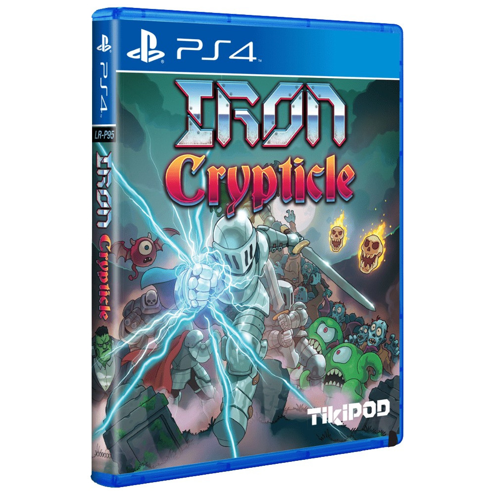 IRON CRYPTICLE PS4 US NEW