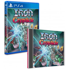 IRON CRYPTICLE + OST PS4 US NEW
