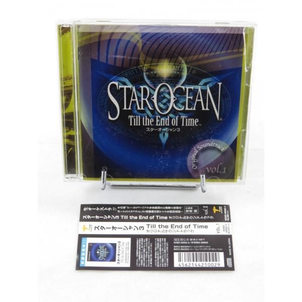 STAR OCEAN 3 TILL THE END OF TIME VOL.1 ORIGINAL SOUNDTRACK JPN OCCASION