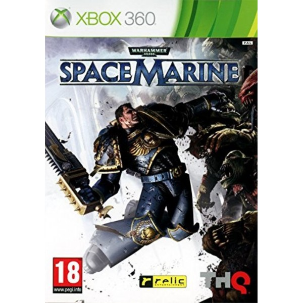 WARHAMMER SPACE MARINE XBOX 360 PAL-FR OCCASION