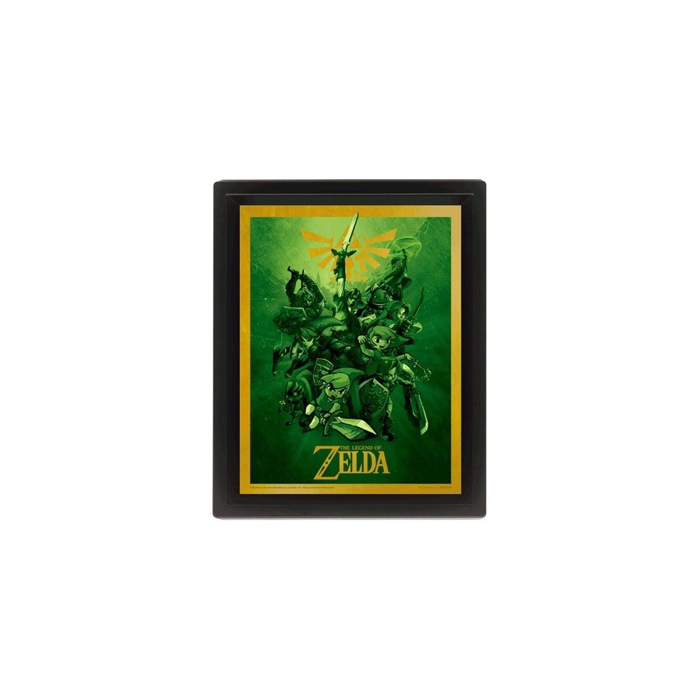 THE LEGEND OF ZELDA POSTER AMAZING 3D COLLECTOR S LIMITED EDITION