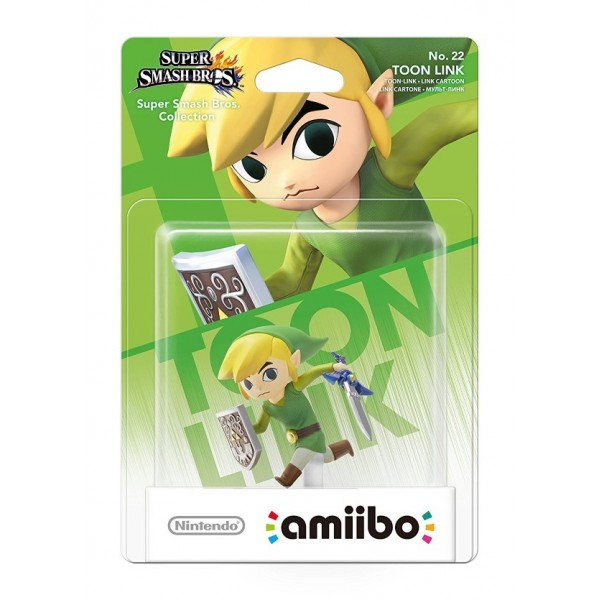 AMIIBO N 22 LINK CARTOON NEW