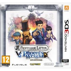 PROFESSOR LAYTON VS PHOENIX WRIGHT 3DS UK NEW