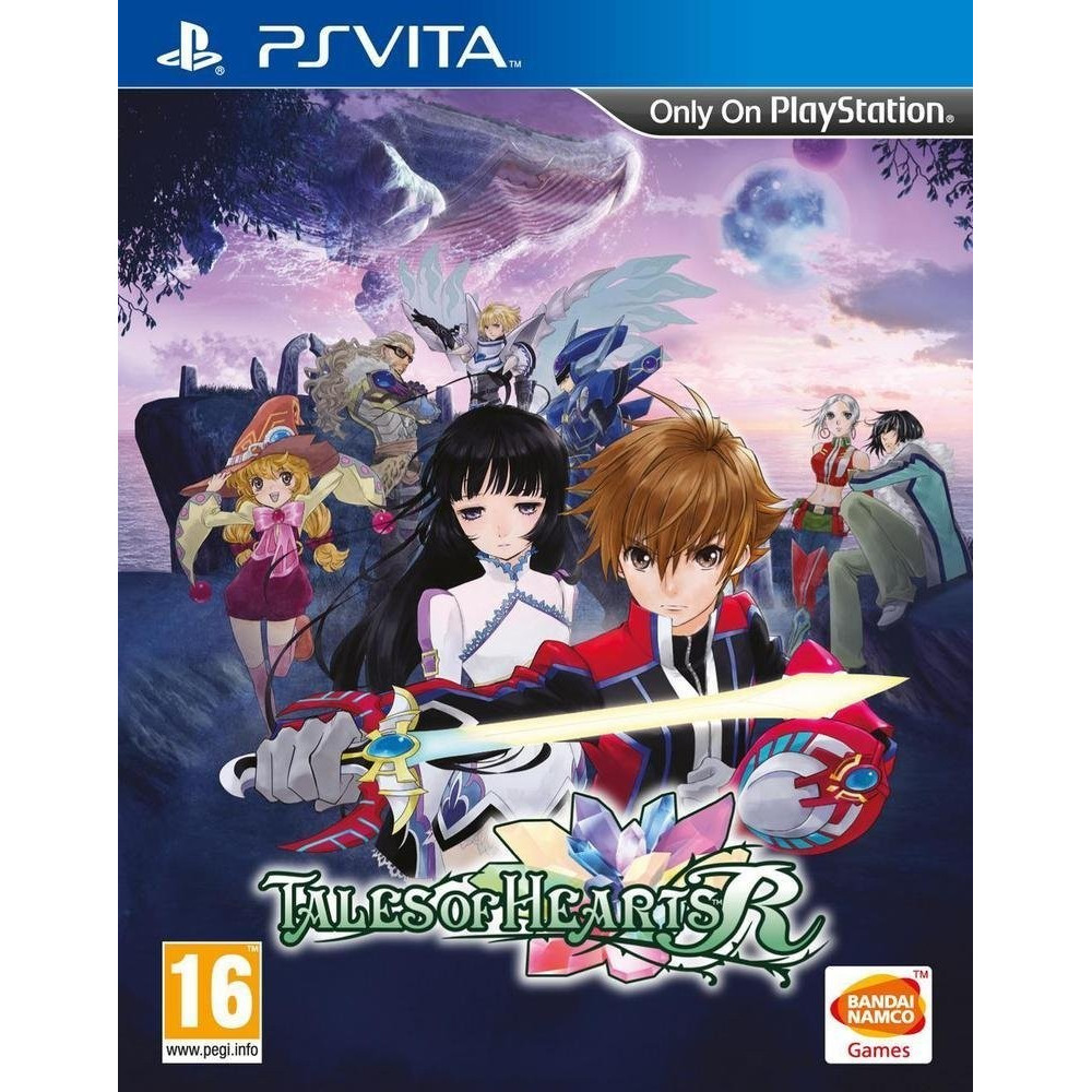 TALES OF HEARTS R PSVITA UK NEW