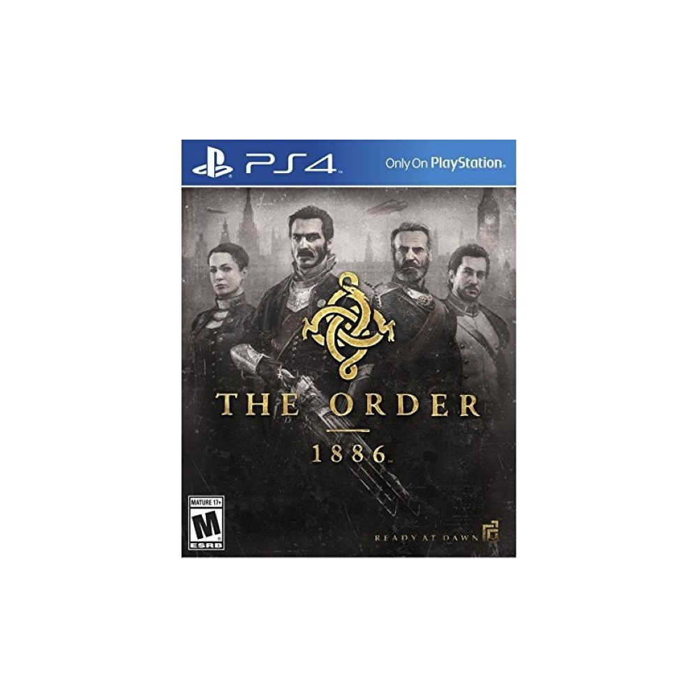 THE ORDER 1886 PS4 US NEW