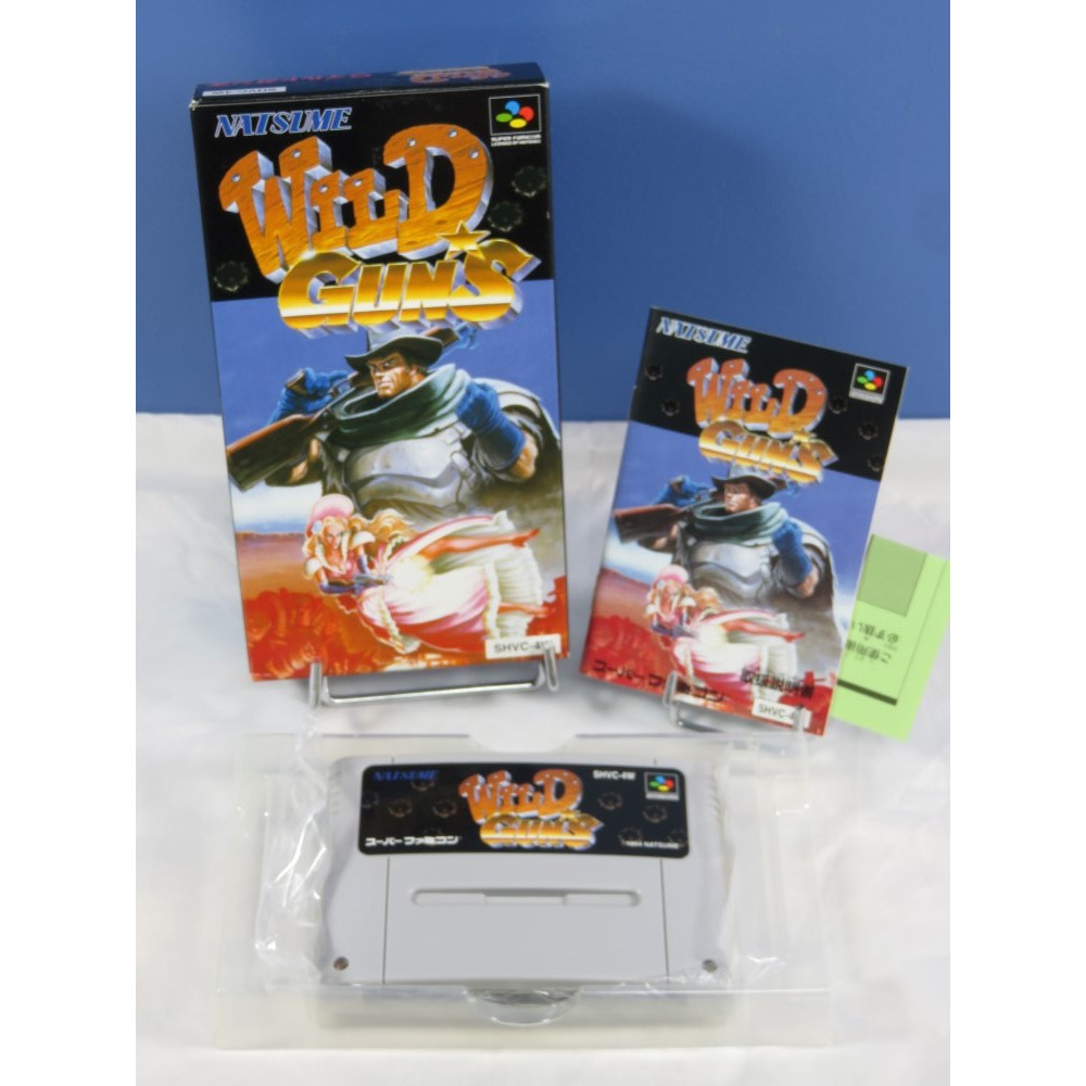 WILD GUNS SFC NTSC-JPN OCCASION