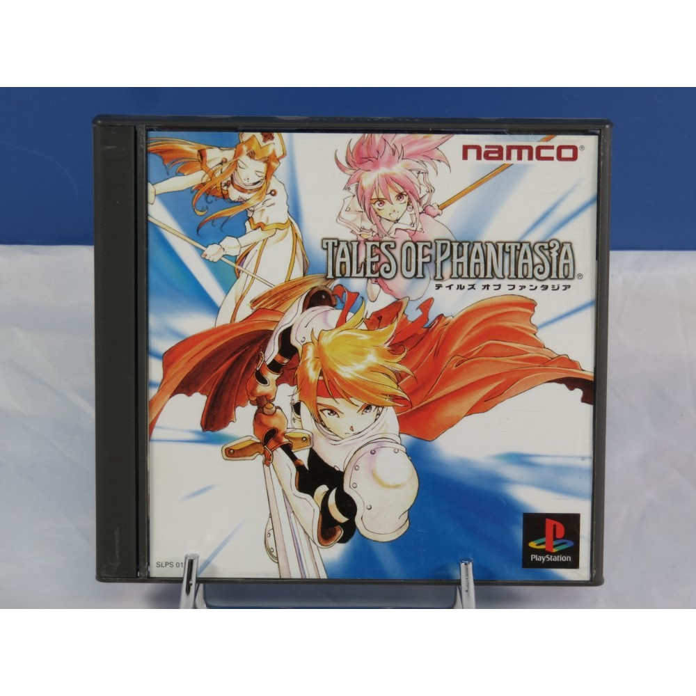 TALES OF PHANTASIA PS1 NTSC-JPN OCCASION(ETAT B)