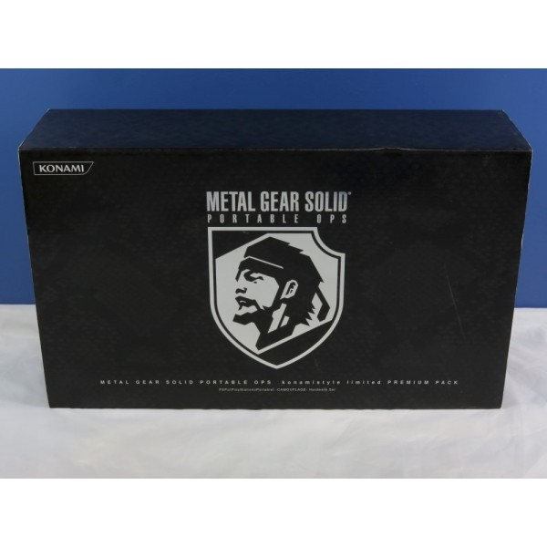 CONSOLE METAL GEAR SOLID PORTABLE OPS KONAMISTYLE LIMITED PREMIUM PACK JPN OCCASION