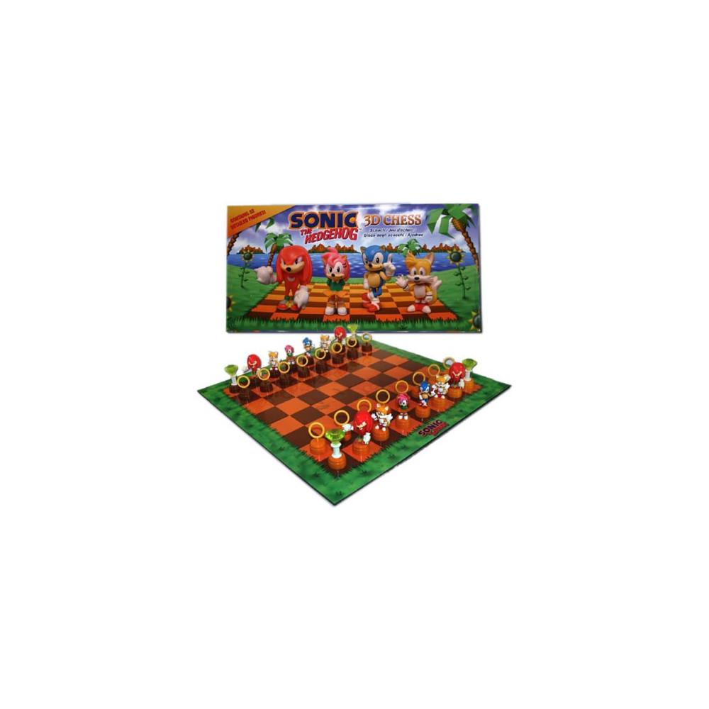 SONIC THE HEDGEHOG 3D CHESS - JEU D ECHECS